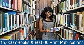 15,000 eBooks & 19,000 Print Publications
