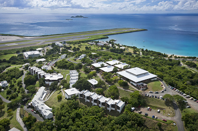 The St. Thomas Campus is located on the island of St. Thomas, United States Virgin Islands.