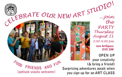 Celebrate Our New Art Studio!