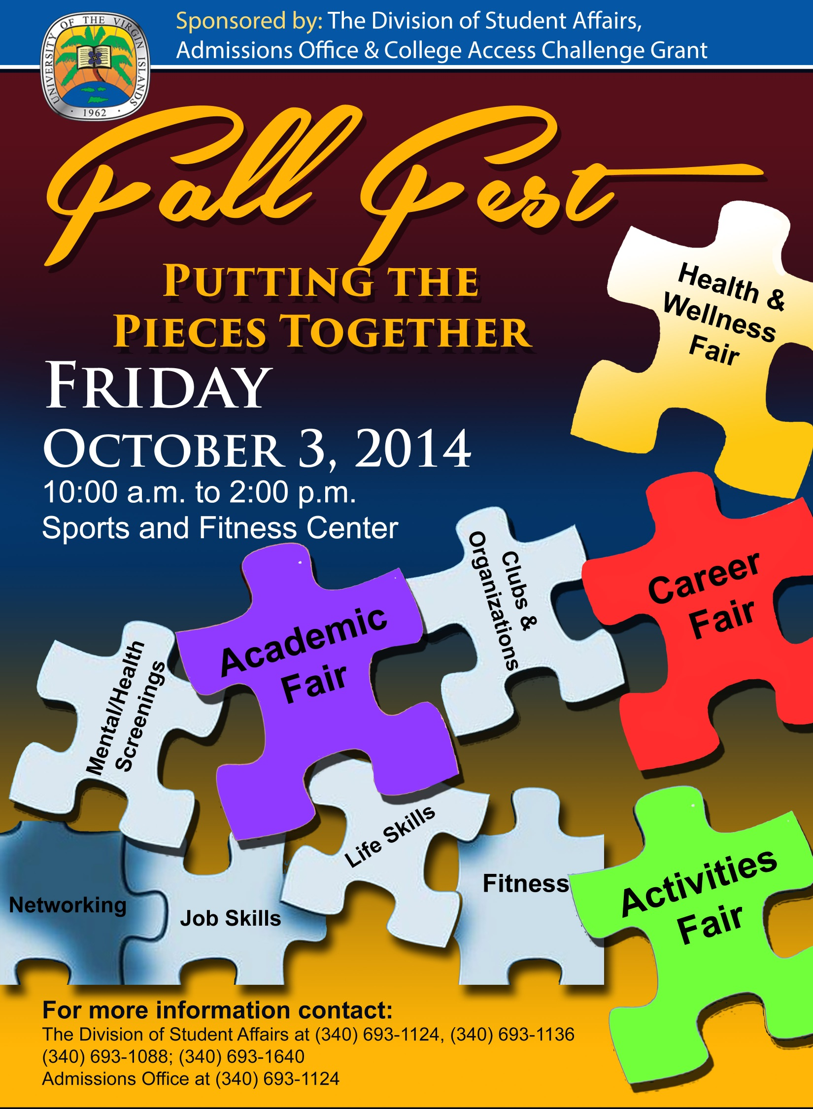 Fall Fest is set to take place on October 3, 2014