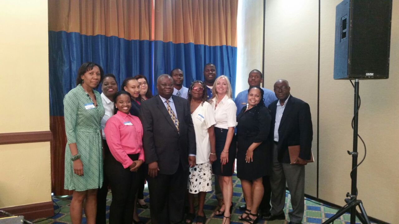 Directors and UVI Governor Mapps at the recent General Membership meeting