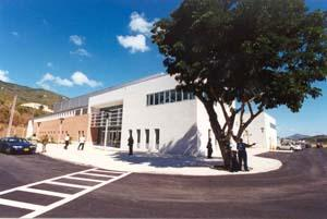 UVI Sports and Fitness Center on the St. Thomas campus.