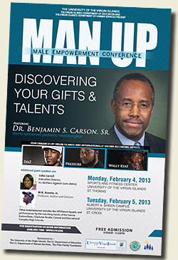 Man-Up 2013 Poster