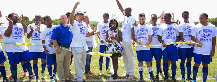 Soccer Field Ushers in New Era in UVI Athletics