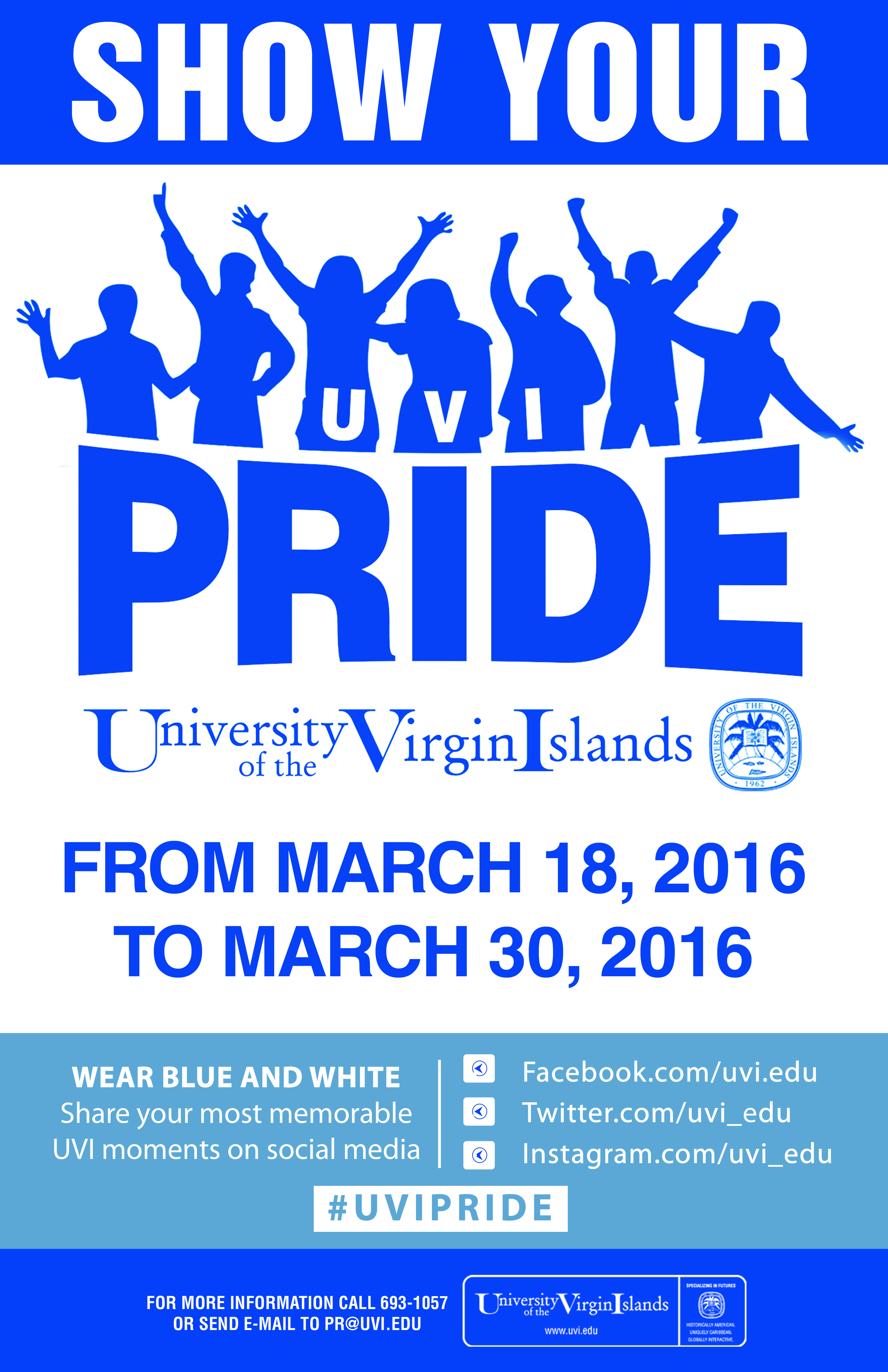 Show Your UVI Pride!