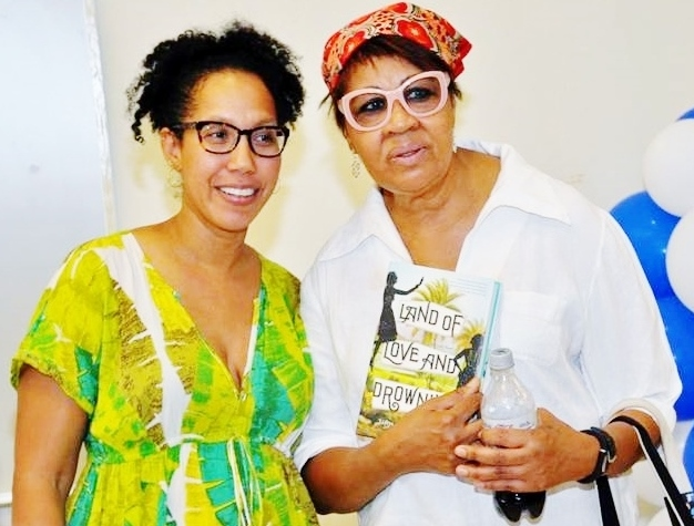 Tiphanie Yanique and Jamaica Kincaid at UVI's Lit Fest