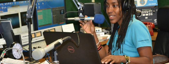 Station/Programming Manager DaraMonifah Cooper ON AIR