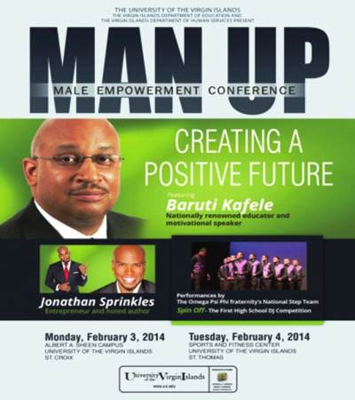 Man-Up 2014 poster