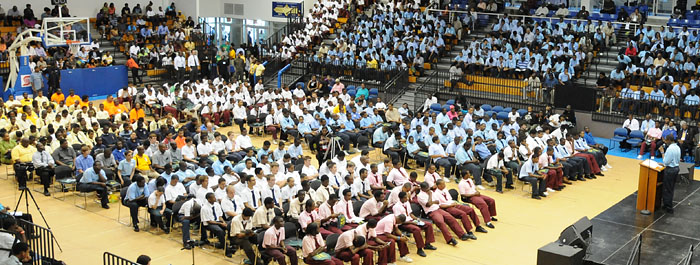 Man Up Conference encourages young males to go to college.
