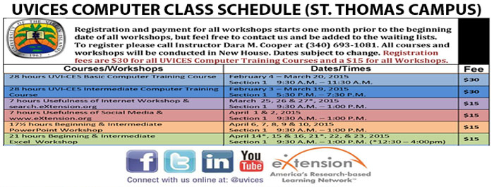 Click Image for St. Thomas Computer Training Schedule