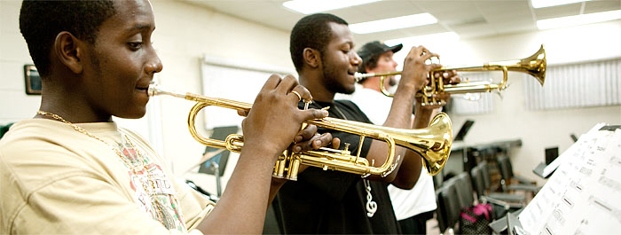 Major in music education to promote the performing arts.