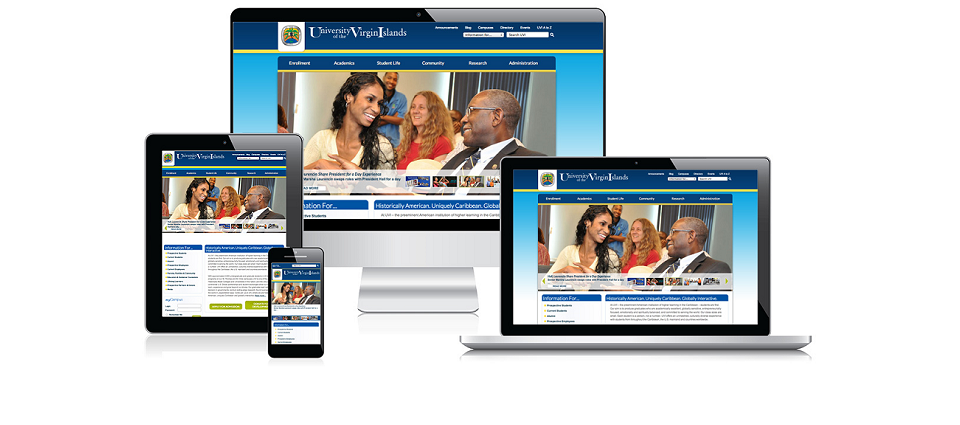 UVI Website Wins International Award