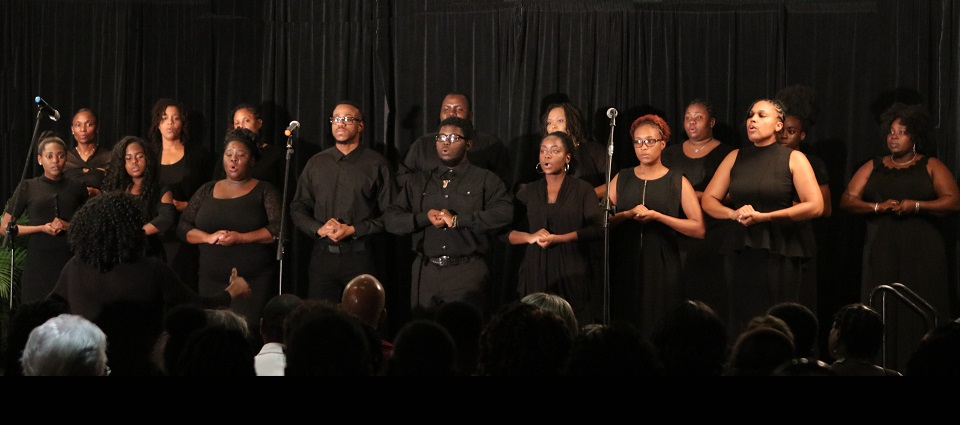 UVI Voices of Inspiration Community Choir Rocks St. Kitts