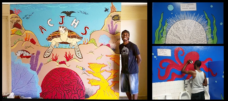 VIMAS uses art to educate students on marine biology...
