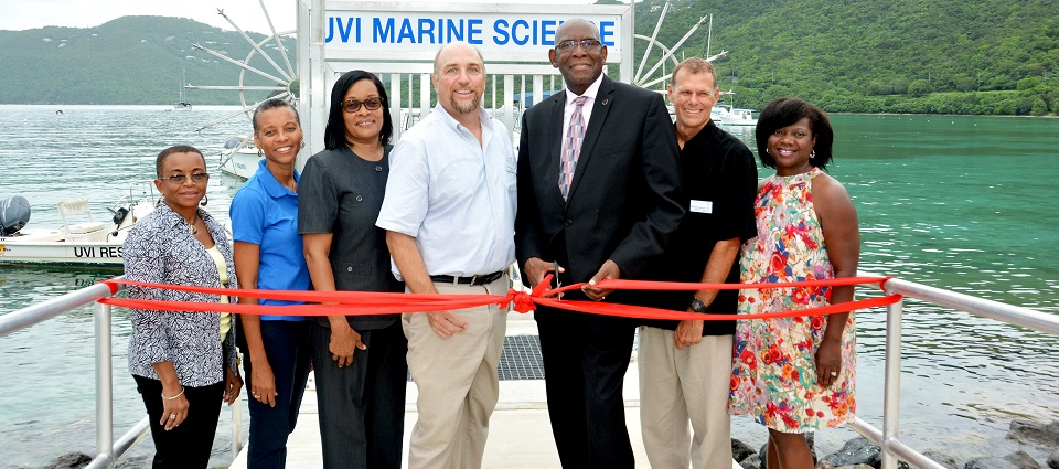 UVI Unveils New 170 ft Concrete Dock