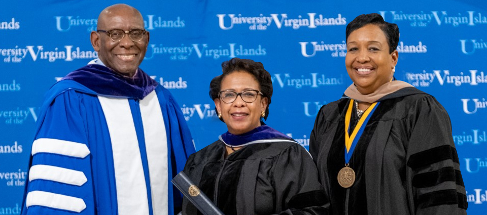 President Hall Bestows Honorary Degree to 83rd U.S. Attorney General