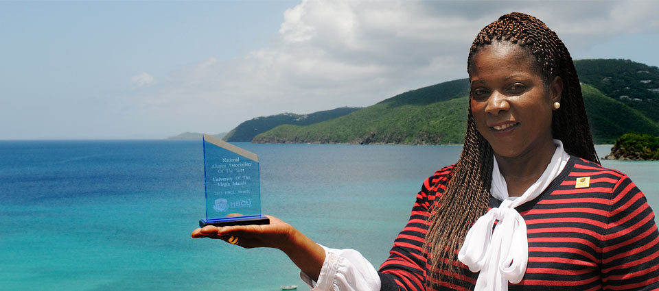 UVI's Successful Alumni Giving Rate Leads to National Award