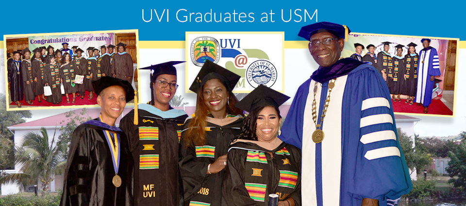First Cohort of Students Graduate from UVI at USM