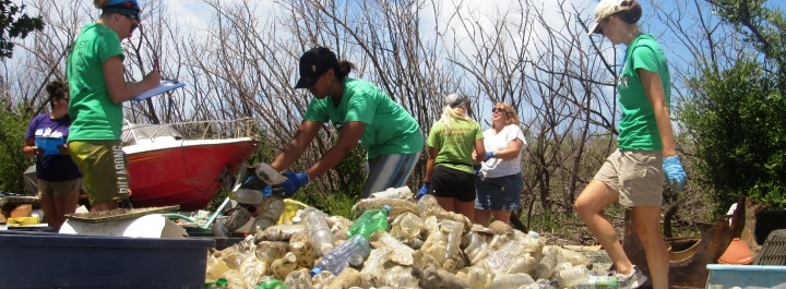 Outreach and Research - Working to prevent marine debris.