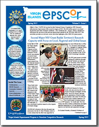 Image of Spring 2015 VI-EPSCoR newsletter
