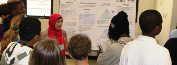 UVI Research Day 2020 Student Winner Manal Asad
