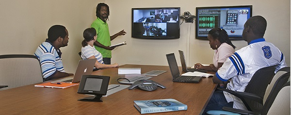 All St. Thomas and St. Croix video conferencing classes are available at the St. John Academic Center.