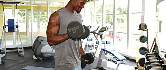 1 to 100 pound dumbbells. What is your limit?