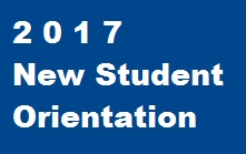 2016 New Student Orientation