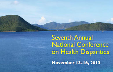 National Conference on Health Disparities Program Cover