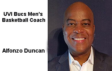 Photo of Alfonso Duncan, New Head Coach of the Men's Basketball Team.