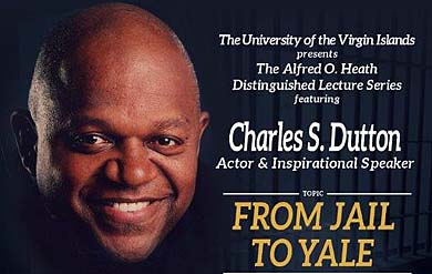 Charles S. Dutton, actor, director and inspirational speaker