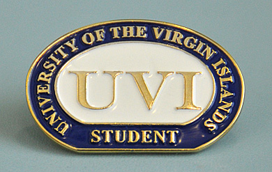UVI New Student Pin