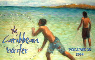 The Caribbean Writer book cover art.