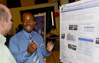 Photo from UVI Spring Symposium held in 2013