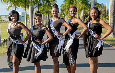 2014 Miss UVI Contestants