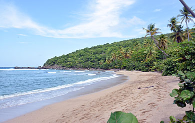 Hendricks Beach on St. Thomas