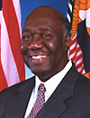 Dr. Charles Turnbull, former Virgin Islands governor