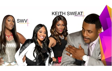 Photo of Keith Sweat and SWV.