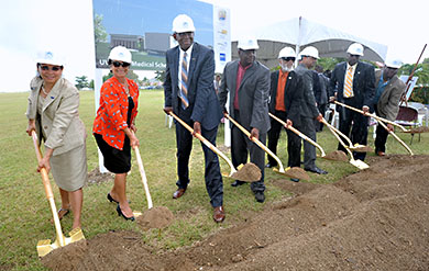 UVI School of Medicine groundbreaking