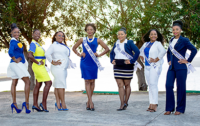 Miss UVI Ambassadorial Competition Contestants
