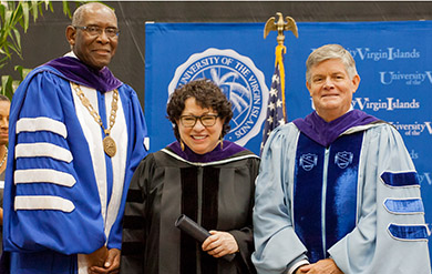 Supreme Court Justice Sonia Sotomayor Receives an Honorary Degree at Student Convocation