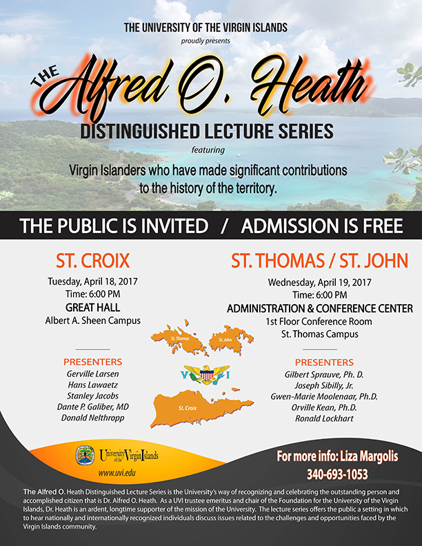 Alfred Heath Lecture fyer