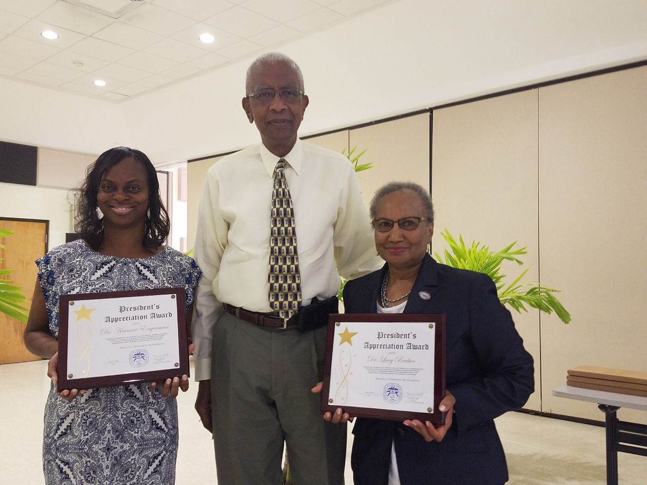 Presidential Awardees in St. Croix