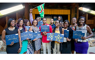 UVI Students Receive Awards for High Achievement