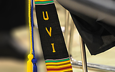 UVI commencement stock photo