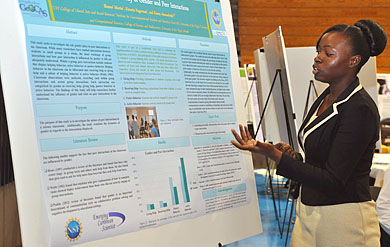 UVI holds student fall research symposium