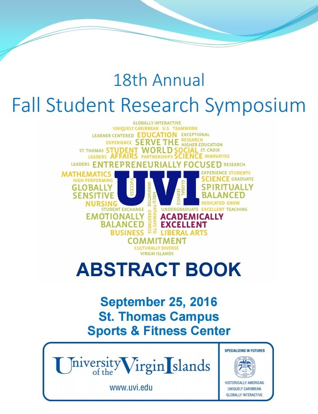 18th Annual Fall Student Research Symposium